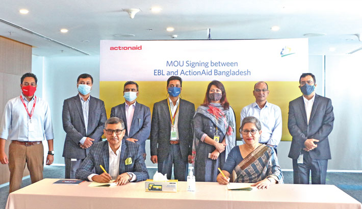 ActionAid joins hand with EBL to fight corona