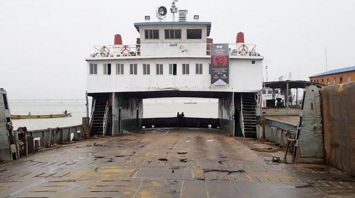 Ferry hits pillar of Padma Bridge again