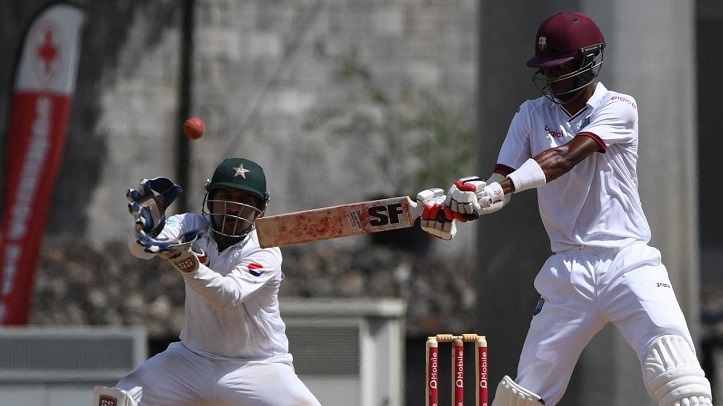 Abbas double strike puts West Indies on back foot in first Test