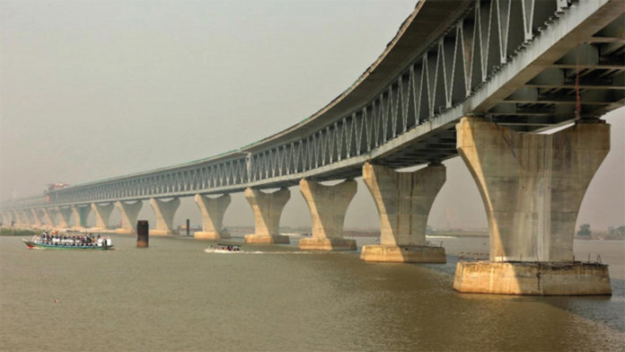 Hitting Padma Bridge pillars a conspiracy !