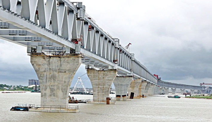Hitting Padma Bridge pillars by ferries a conspiracy !