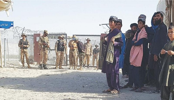 Pakistani forces clash with Afghan protesters at Chaman border crossing
