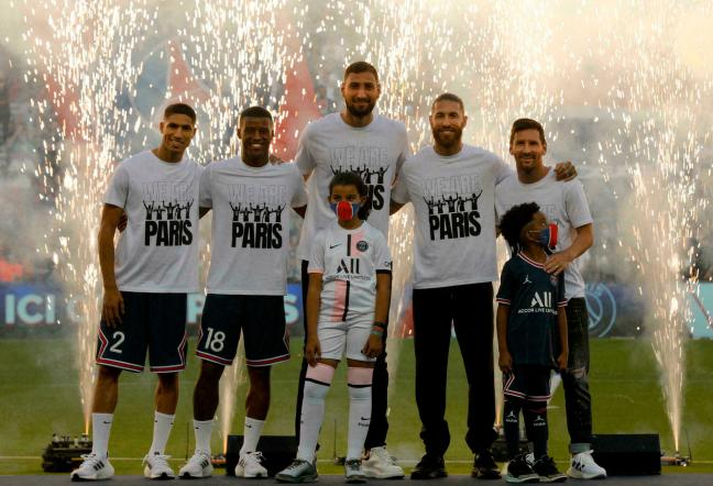Messi gets rapturous reception before watching PSG beat Strasbourg
