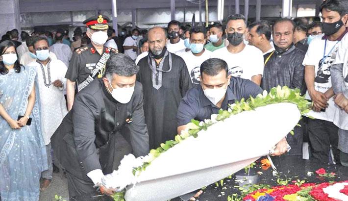 Doraiswami pays homage to Bangabandhu