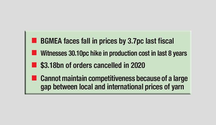 BGMEA seeks import of raw materials thru' all landports