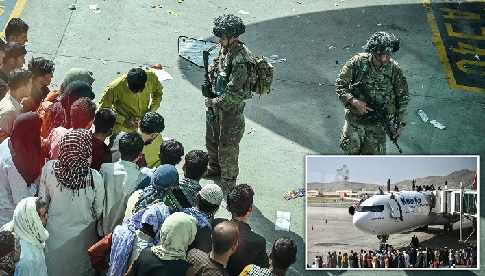 US soldiers kill two armed men at Kabul airport: Pentagon