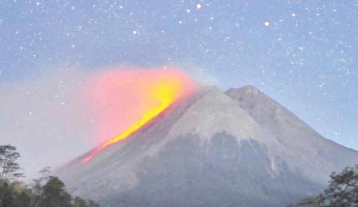 Indonesia volcano erupts, blankets villages in ash