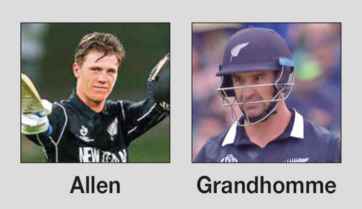 Allen, Grandhomme to arrive early