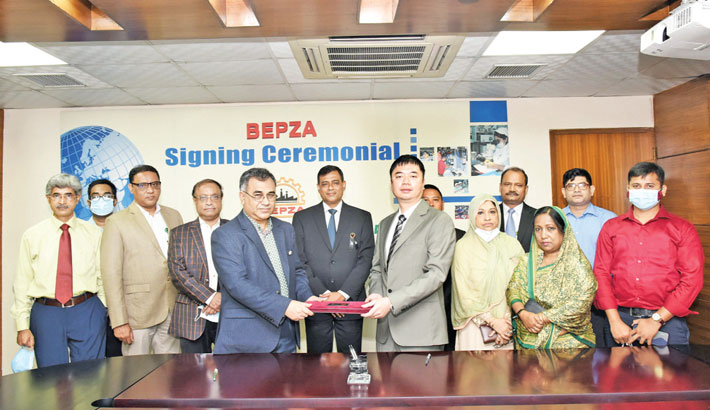 Chinese co to invest $6m in Dhaka EPZ