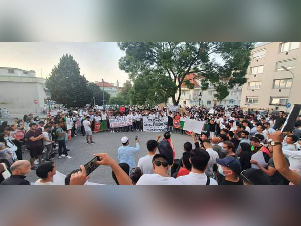 Protests in many countries against Taliban's seizure of Afghan territories
