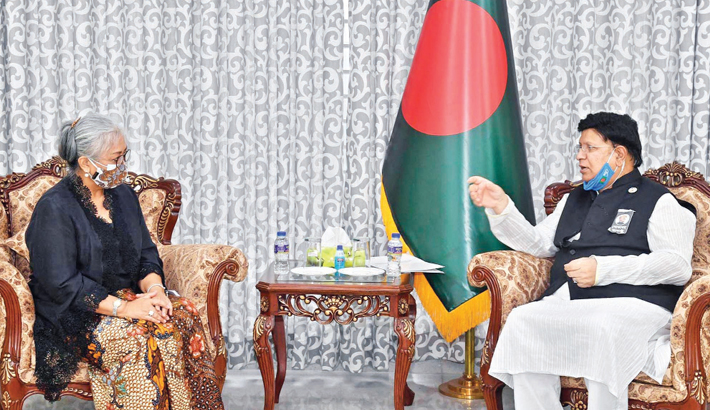 Bangladesh seeks Indonesia's support to be ASEAN SDP