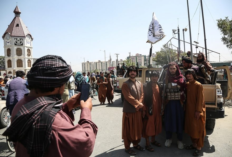 Women protest in Taliban's Kabul, the city is yet fully come to normal
