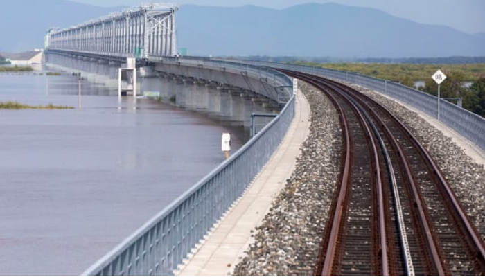 First cross-river railway bridge between China and Russia completed