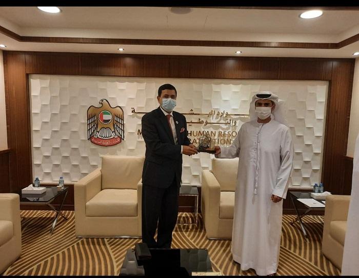 Bangladesh Envoy to UAE holds meeting with Undersecretary of Ministry for Human Resources & Emiratisation, UAE