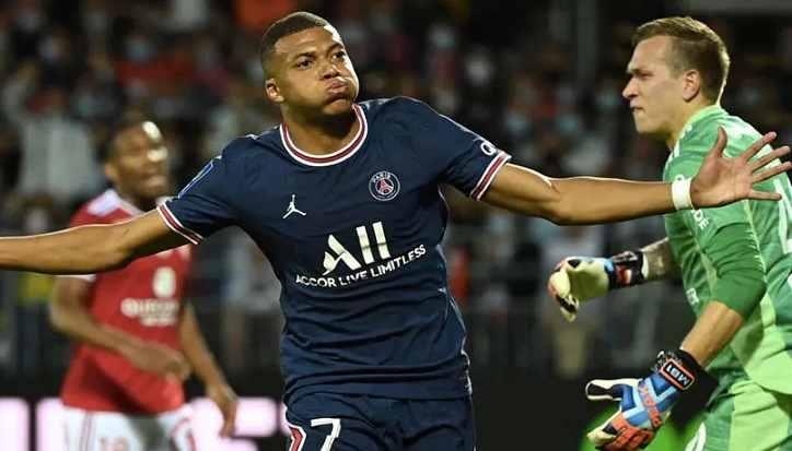Mbappe on target as PSG win without Messi and Neymar