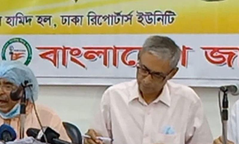 We want to take the Mahfuz Anam's conspiracy issue to the PM: Bidhan Bihari Goswami