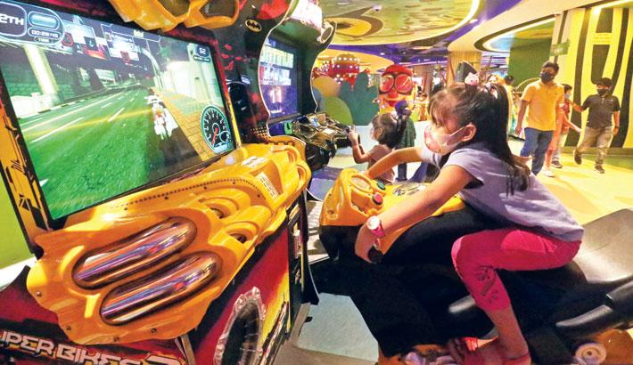 Children rush to Toggi World