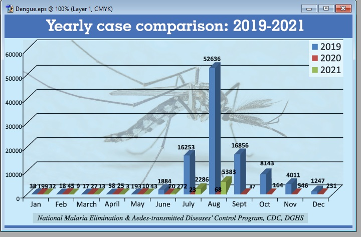 Dengue situation may linger until November