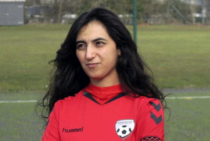 Afghanistan's female footballers make tearful calls for help