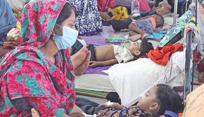 Dengue Taking Toll On Kids