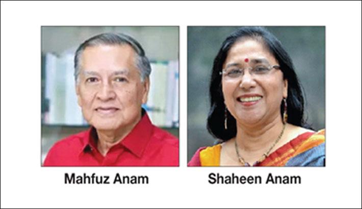 Hindus demand legal action against Mahfuz Anam, wife