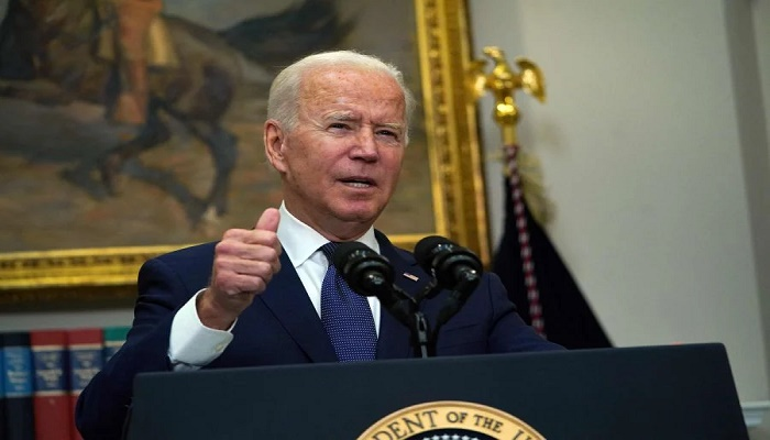 Biden hopes to end Afghan airlift on time as Taliban blame US for chaos