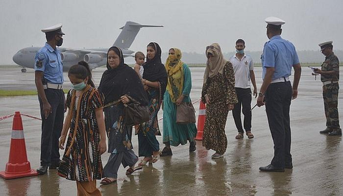 India evacuates its stranded citizens