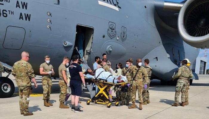 Afghanistan: Afghan woman gives birth to baby girl on US evacuation plane