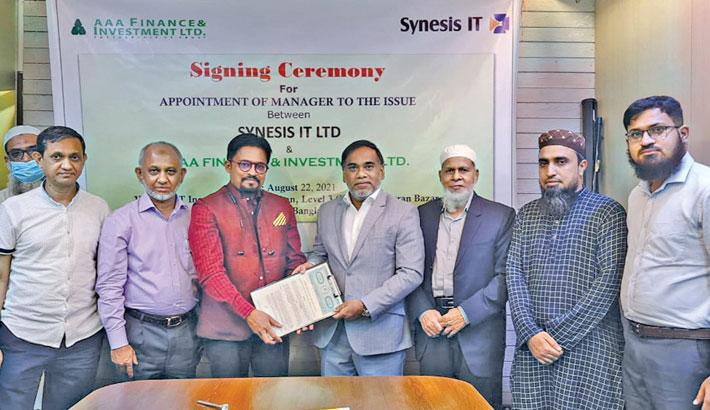 Synesis IT, AAA Finance ink deal to enroll in capital mkt