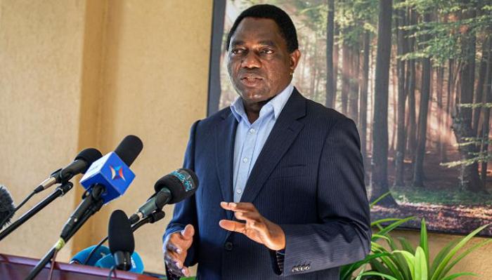Zambia's Hakainde Hichilema sworn in as President in rare victory