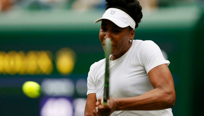 Veteran Williams ousted in opening match at Chicago Women's Open