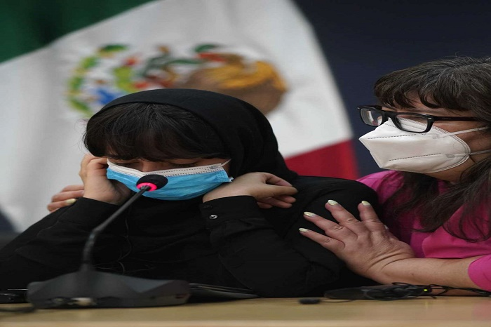 Mexico welcomes arrival of its 1st group of Afghan refugees