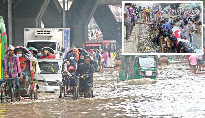 No let-up in waterlogging in port city