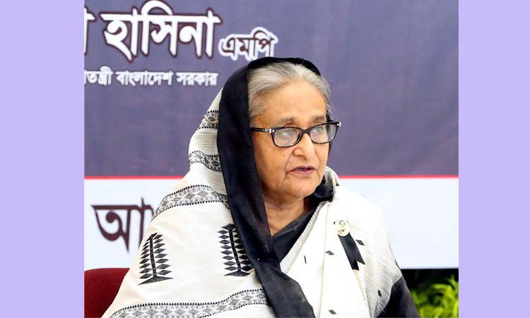 PM renews vow to foil aim behind Bangabandhu killing