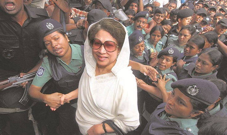 Indictment hearing in two cases against Khaleda Zia Sept 5