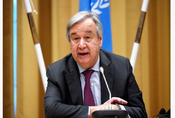 UN chief condemns terrorist attack in Kabul