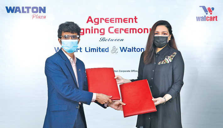 Walton inks deal with Walcart to sell products