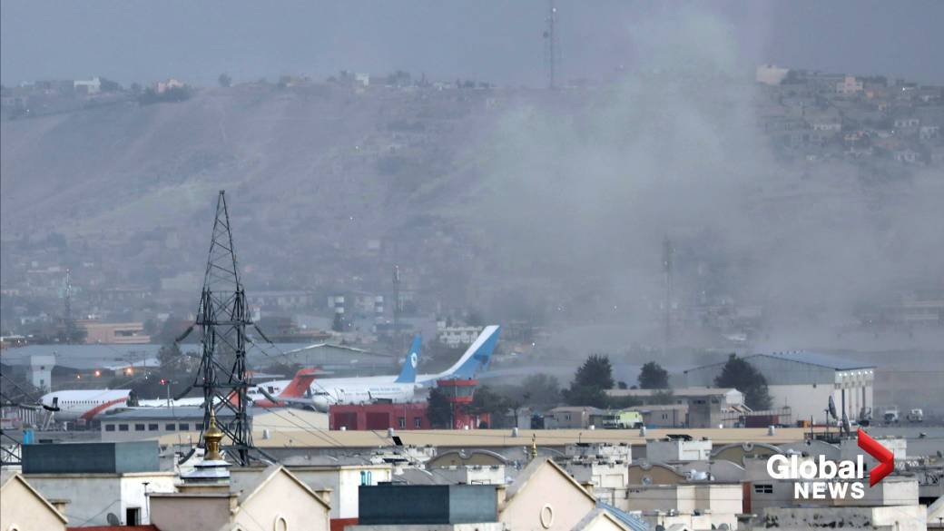 ISIS-K claims responsibility for explosions at Kabul's airport