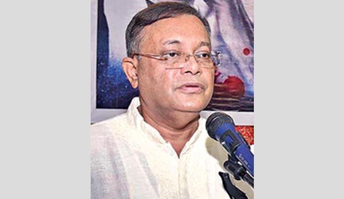 BNP's politics based on lies: Hasan