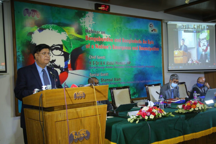 Bangabandhu's foreign policy still works as guiding principle: says Momen