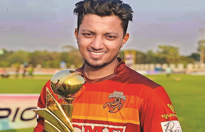 Cricketer killed in road accident