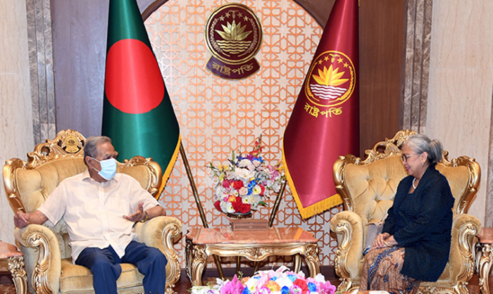 Indonesian envoy pays farewell call on President