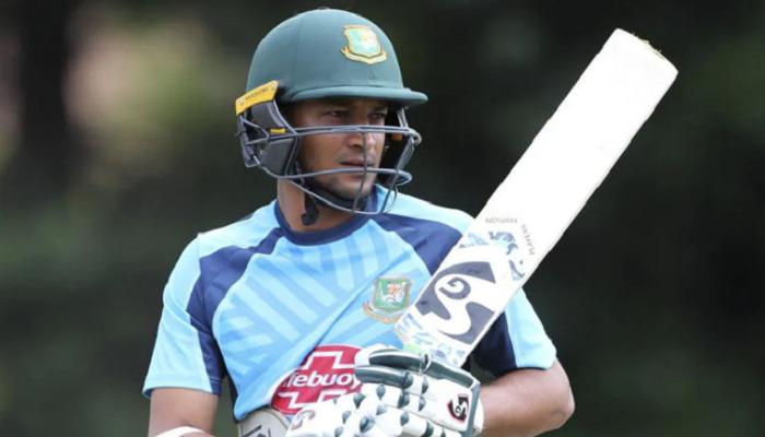 Shakib finally joins Bangladesh's practice session