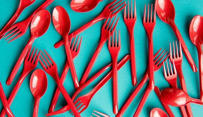 England to ban single-use plastic cutlery