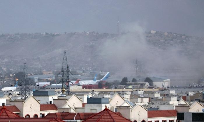 Rocket hits near Kabul airport, kills child