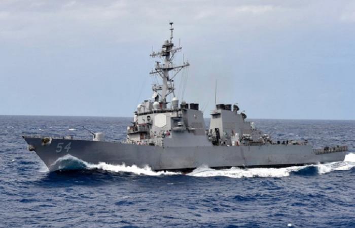 China condemns sailing of US Navy Coast Guard ships through Taiwan Strait