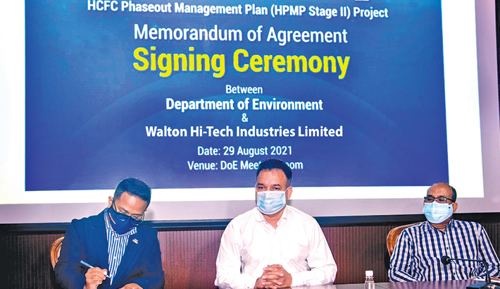 Walton signs deal with DoE