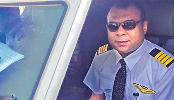 Biman pilot Nawshad passes away