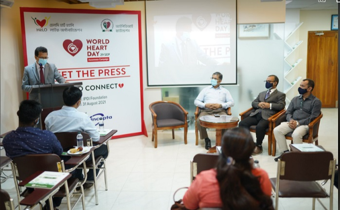 World Heart Day: HeLO-IPDI Foundation announces month-long public awareness programme
