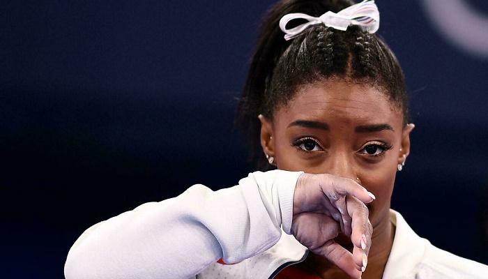 Biles says mental health problems began before Olympics